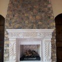 (Fireplace After) Cobble, Sedona Brown