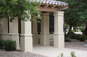 after stucco in az