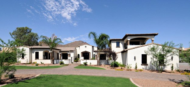 Paradise Valley stucco home